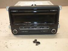 2012 12 Volkswagen Passat Dash Radio AM FM CD Player Gauge Cluster Info