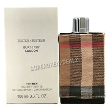 Burberry London for Men 3.3 oz EDT Spray (Tester) NEW AUTHENTIC
