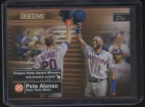 2020 Topps PETE ALONSO /50 Gold Parallel Mets Empire State Awards Winners JE140