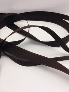 4m Berisfords Brown Rustic Ribbon. Art 3818 Col 25. 12mm Wide