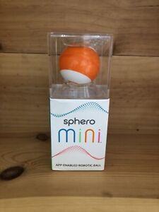 Sphero Mini App Enabled Robotic Ball Orange New DRIVE GAME CODE Teeny Tiny Tech