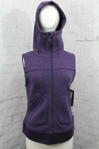 Burton Minxy Zip-Up Vest, Women's Extra Small/XS, Purple Velvet Heather New