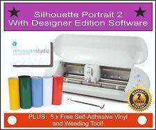 Silhouette Portrait 2, Vinyl Cutter, Plotter - With Designer Edition Software