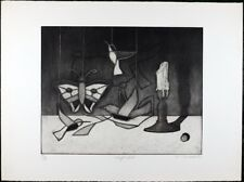 Tighe O'Donoghue, Vintage Black and White Aquatint Etching Limited Edition #99