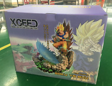 XRS XCEED Dragon ball resin Goku vs buu