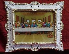 Jesus Christus zwölf Aposteln 12 Apostel das letzte Abendmahl Jesu 45x38 Weiß/G