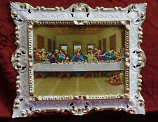 Jesucristo Doce aposteln 12 Apóstol Das letzte Última Cena JESU 45x38 BLANCO/G