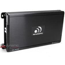 Massive Audio B1000.4 Car Stereo Max Blade-Series 4-Channel Speakers/Sub Amp