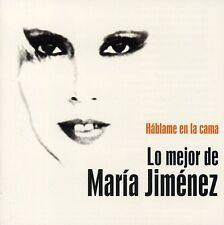 María Jiménez - Hablame en la Cama. Lo Mejor de Maria Jimenez [New CD]