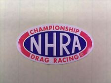 """NHRA Championship Drag Racing 6-1/4"""" decal/sticker--perfect for your drag car"""