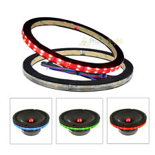 """2 Pack DS18 6.5"""" Speaker Ring RGB LED 1/2"""" Spacer Waterproof LRING6 Accent"""