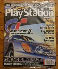 Oficial u.s.play station Megazine (Gran turismo 3 )Brand new: