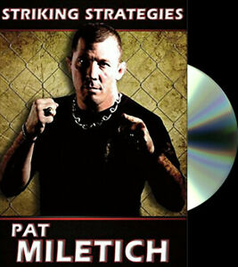 Striking Strategies With Pat Miletich 2 DVD Set - BJJ UFC MMA Boxing Jiu-Jitsu