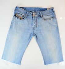 Diesel Zathan Jeans * Diesel Denim Shorts W32 Excellent Condition 008SZ 32W ***
