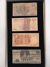 EGYPT Paper Money  25 , 50, POUND & 5 POUND