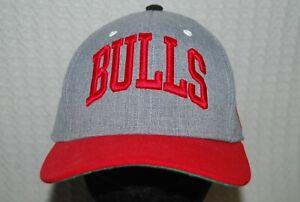 Chicago Bulls Basketball Team Peaked Cap
