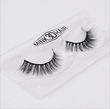 100% 3D Mink Fur Thick False Fake Eyelashes Eye Lashes Makeup Extension A01-3D