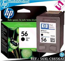 Black ink 56 xl original printer hp deskjet officejet j pro black cartridge