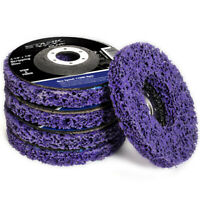 """4.5 inch Easy Strip Discs Remove 4.5"""" x 7/8"""" Paint Rust Stripping Disc 5PC Set"""