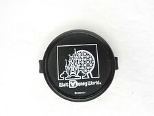 Walt Disney World 49mm Black / White Snap On Front Camera Lens Cap