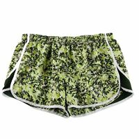 Under Armour Heatgear Womens Semi-Fitted Running Shorts Liner Green Size Large