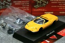 Kyosho 1/64 Ferrari Collection 4 Ferrari Dino 246 GTS Spyder 1973 Yellow
