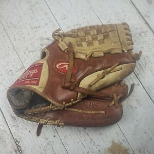 Rawlings 12'' GGE12BC Elite Series Glove Professional Player Brown Beige