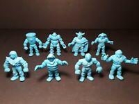 Vintage - Lot of 8 Rare Muscle Men YSNT Aqua Blue Figures. Lot #9