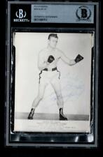 Irish Bob Murphy d.1961 Boxer signed boxing photograph auto BAS signature