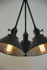 Black Sputnik Chandelier Mid Century Light Modern Light Fixture Ceiling Lamp