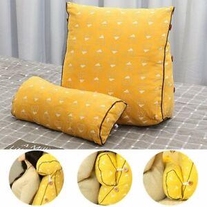 Triangle Sofa Cushion Headrest Set Back Pillow Bed Office Chair Waist  AU1
