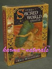 SACRED WORLD Oracle Card Deck Kris Waldherr - Guidance Insight Divination Tarot