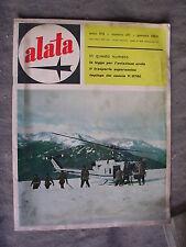 ALATA # 211 - RIVISTA AERONAUTICA - GENNAIO 1963 - BUONO