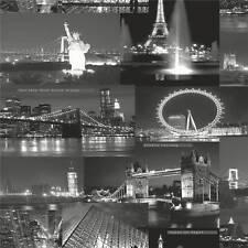 Holden - City By Night - Black & White Wallpaper 97670