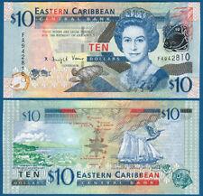 EAST CARIBBEAN STATES 10 Dollars (2008) UNC P. 48