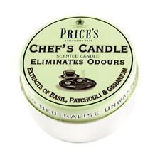 Price's Chefs Candle in Tin - Eliminates Cooking Kitchen Odour