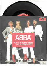 """ABBA  Take A Chance On Me & I'm A Marionette PICTURE SLEEVE 7"""" 45 rpm BRAND NEW"""