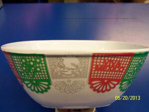 Fiestas Patrias Viva Mexico Fiesta Cinco de Mayo Party White Melamine Snack Bowl