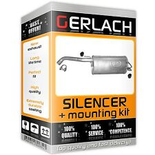 Silencer for Nissan Micra Note 1.2i 1.4i 16V 1.5 dCi 2005-2010 exhaust rear 2960