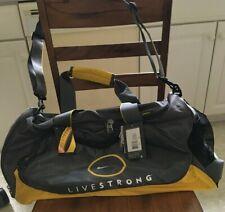 Nike Livestrong Rare NEW LARGE DUFFEL BAG Lance Armstrong 15x24 Cycle Gym Gray