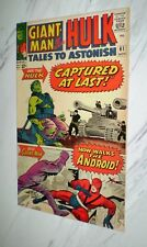 Tales to Astonish #61 VF/NM 9.0 Cr/OW pages 1964 Marvel Giant-Man & Hulk