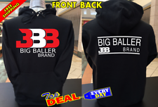 Big Baller Brand BBB Hoodie Pullover Front and Back