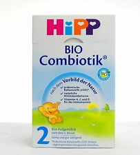 (24,15€/kg) 600g HIPP ORGANIC Combiotik Follow-on milk 2 Use after 6 Mths