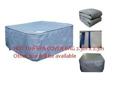 Winterwise! Insulated UV Weatherproof HOT TUB SPA COVER BAG 2.3m x 2.3m