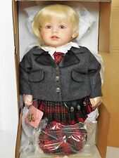 "Rare ADORA INC DOLL 22"" RORY Scotland 2005 LIMITED ED 673/800_22347_MIB & COA"