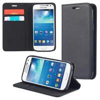 Samsung Galaxy S4 mini I9190 I9195 I9192 Duos Coque de Protection Carte Portefeu