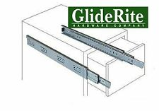 """Easy to Install Side Mount Full Extension Smooth Ball Bearing 10"""" Drawer Slides"""