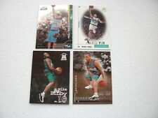 LOT OF 4 MIKE BIBBY ROOKIE CARDS