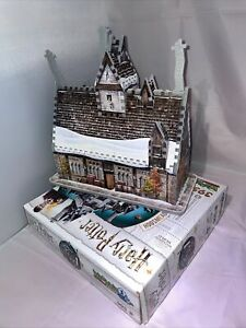 Wrebbit 3D Puzzles Harry Potter Hogsmeade The Three Broomsticks 395-Pc Complete!