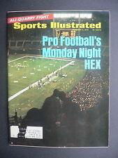 Sports Illustrated November 2, 1970 NFL Monday Night Hex Ali Senators Nov '70